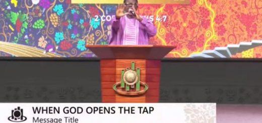 When God opens the tap- Mensal Otabil