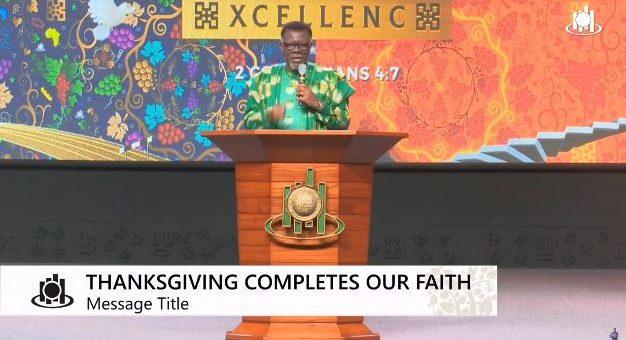 Thanksgiving mensah otabil