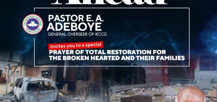 Better Days Ahead Pastor EA Adeboye