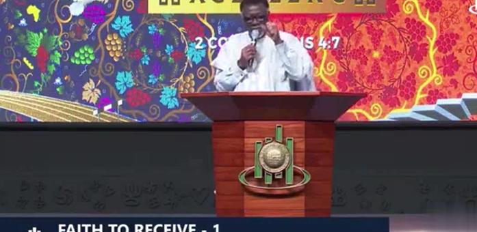 Pastor Mensa Otabil - Faith To Receive