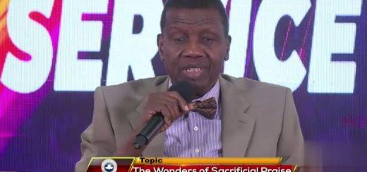 Pastor EA Adeboye Wonders of Sacrifice